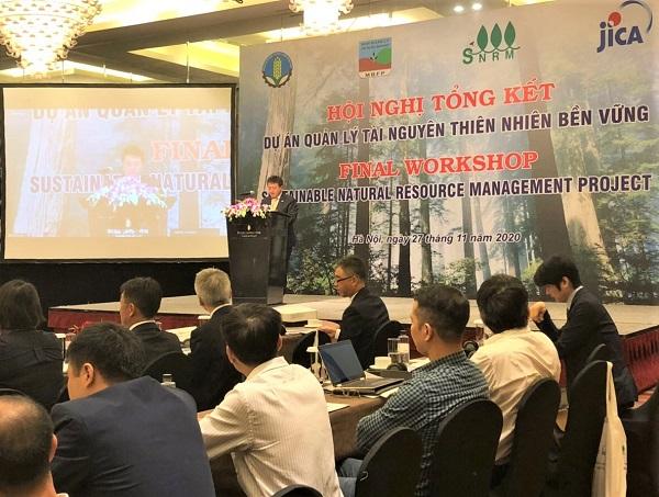 Hội nghị Tổng kết Dự án Hợp tác kỹ thuật Quản lý Tài nguyên Thiên nhiên Bền vững