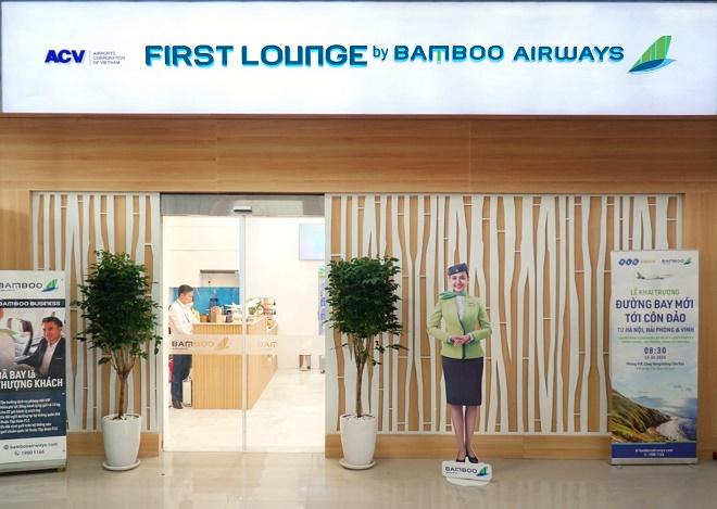 Phòng chờ thương gia sở hữu vị trí thuận tiện và dễ dàng tiếp cận tại Tầng 1 Cảng hàng không Côn Đảo.