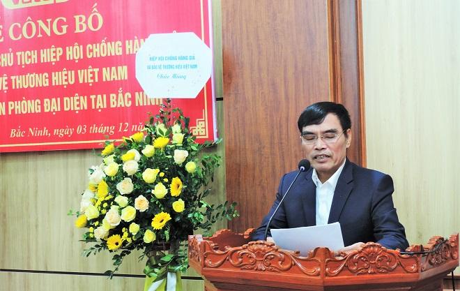 Phó giám đốc Sở Nội vụ tỉnh, Trần Trung Chính đã công bố QĐ của Chủ tịch UBND tỉnh Bắc Ninh cho phép thành lập Văn phòng đại diện VATAP tại địa phương