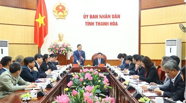 Thứ trưởng Bộ Ngoại giao Nguyễn Minh Vũ: Thanh Hoá cần tranh thủ nhiều hơn nguồn lực quốc tế, thu hút đầu tư từ bên ngoài