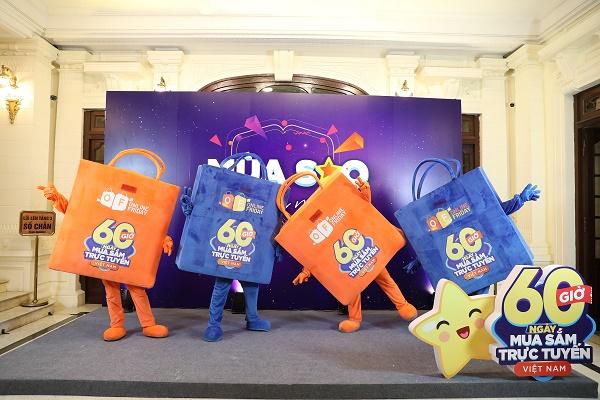 """Khởi động """"60 giờ mua sắm trực tuyến Việt Nam 2020"""""""