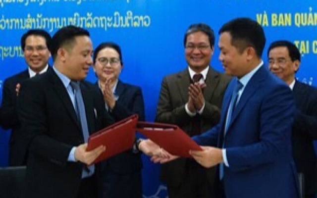 Lễ ký kết Biên bản ghi nhớ giữa Ban Quản lý dự án Văn phòng Chính phủ Việt Nam và Ban Quản lý dự án Văn phòng Thủ tướng Lào