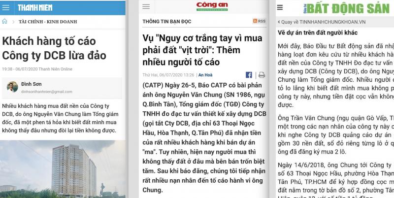 Dù nhiều cơ quan báo chí đã lên tiếng cảnh báo nhưng các dự án kiểu