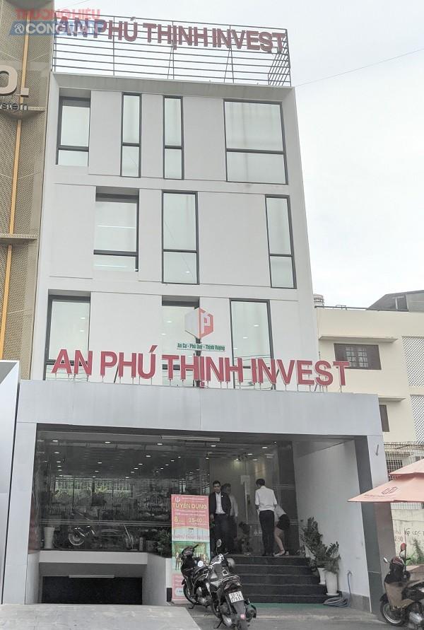 Công ty CP BĐS An Phú Thịnh Investment có trụ sợ tại 280A4 Lương Định Của, P. An Phú, quận 2, TP.HCM
