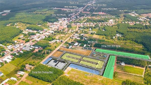 Khu đất trống được An Phú Thịnh Investment vẽ tên Prime City.