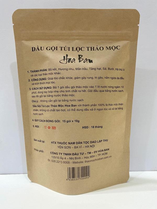 Mặc dù mới ra mắt trên thị trường, nhưng những sản phẩm của Thảo Mộc Hoa Ban đã tạo được niềm tin rất lớn trong lòng khách hàng.