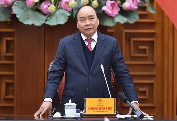 Thủ tướng Nguyễn Xuân Phúc: Tạo điều kiện tối đa cho nghiên cứu vaccine COVID-19 trong nước - Ảnh: VGP/Quang Hiếu