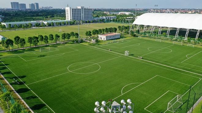 PVF sơ hữu cơ sở vật chất hiện đại cùng bộ máy chuyên môn, vận hành được Liên đoàn Bóng đá châu Á AFC công nhận là một trong ba học viện đầu tiên đạt chứng nhận học viện bóng đá 3 sao