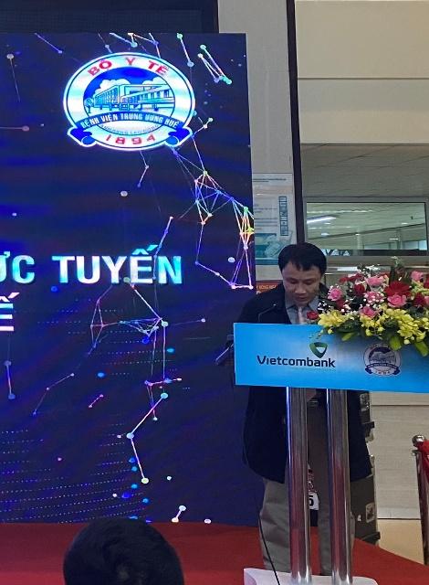 GS-TS Giám đốc BVTW Huế Phạm Như Hiệp đang phát biểu