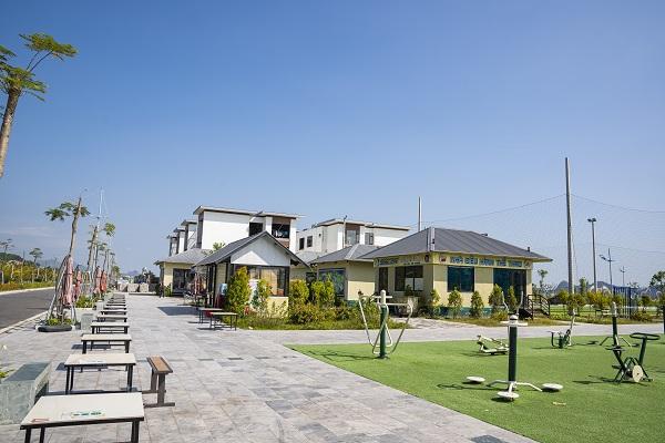 Khu đô thị Phương Đông đang là điểm đến thu hút của khách du lịch khi đến với Vân Đồn