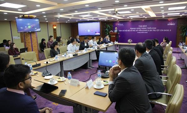 Ông Nguyễn Hưng - Tổng giám đốc TPBank chia sẻ tại sự kiện