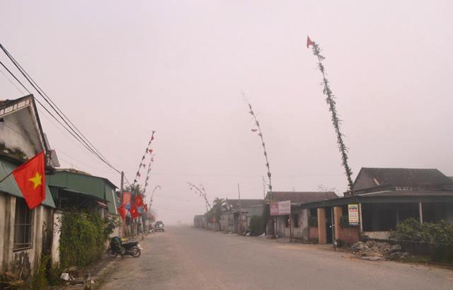 Truyền thống dựng cây nêu tại Thạch Thạch Đồng- Hà Tĩnh vào dịp xuân về