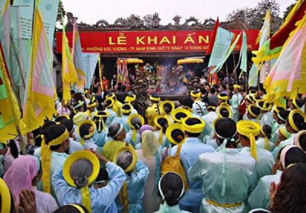 Nam Định, dừng tổ chức Lễ hội Khai Ấn đền Trần Xuân Canh Tý 2020