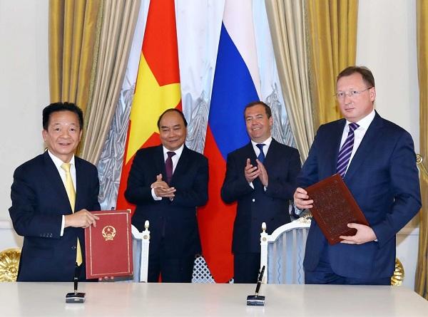 Tập đoàn T&T Group và Tập đoàn dầu khí Zarubezhneft đã trao biên bản ghi nhớ hợp tác