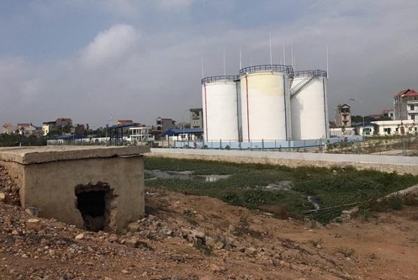 Công trình vi phạm của Công ty Cổ phần Xăng dầu Hưng Yên