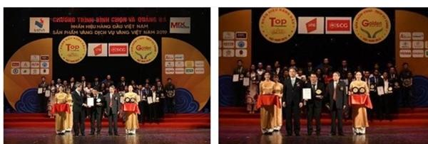 Ông Nguyễn Văn Kinh Luân - Giám đốc Sale - Marketing công ty TNHH Phú Nông đại diện nhận giải thưởng