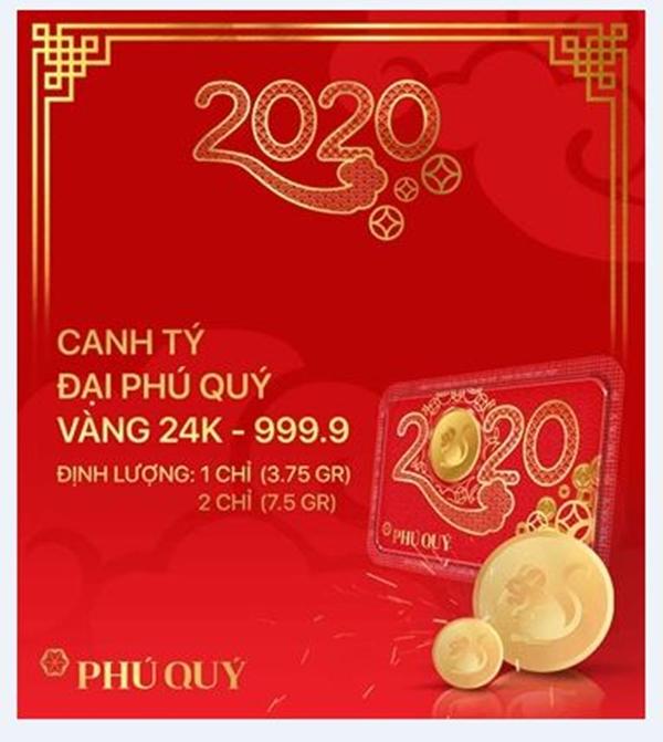 Hình tượng CANH TÝ ĐẠI PHÚ QUÝ trong BST Thần Tài Phú Quý 2020