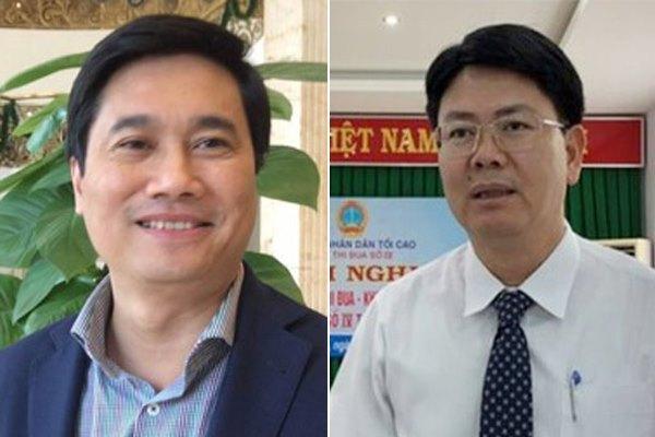 Thứ trưởng Xây dựng Nguyễn Tường Văn sinh năm 1971 (trái); Thứ trưởng Tư pháp Nguyễn Thanh Tịnh sinh năm 1970