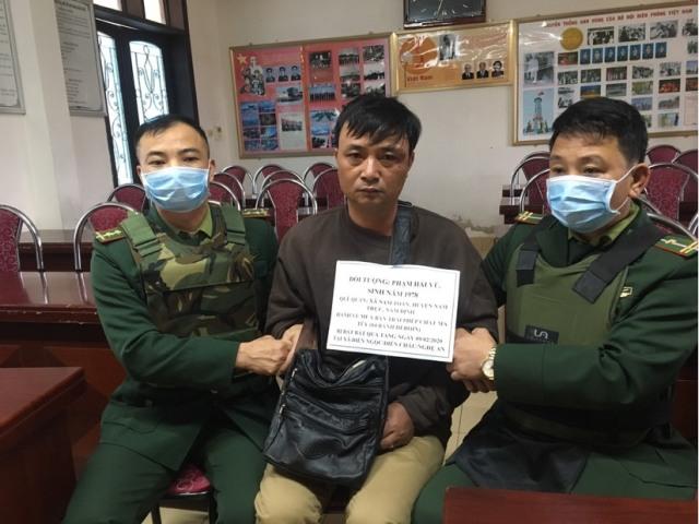 Đối tượng Phạm Hải Vũ bị bắt giữ khi đang vận chuyển trái phép 4 bánh heroin