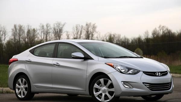 Xe Hyundai Elantra bị triệu hồi tại Mỹ