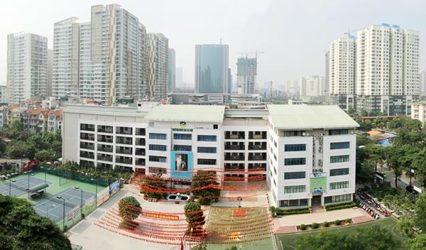 Một trường tiểu học tại KĐT mới Trung Hòa - Nhân Chính