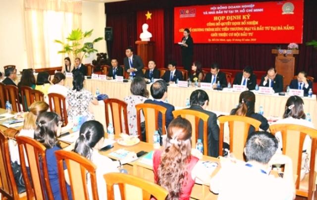 Quang cảnh buổi giới thiệu Chương trình xúc tiến thương mại và đầu tư tại TP. Đà Nẵng.