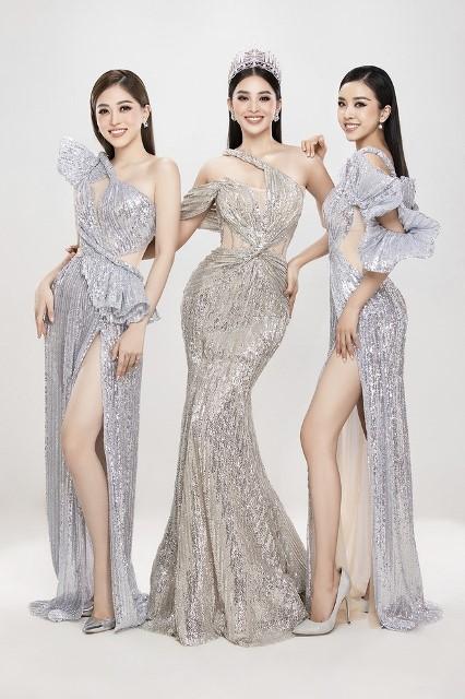 Top 3 Hoa hậu Việt Nam 2018.