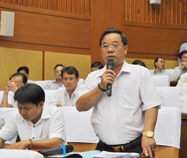 Ông Đoàn Văn Thắng, Bí thư - Chủ tịch UBND xã Tân Lâm, huyện Xuyên Mộc