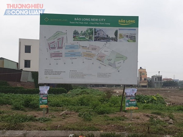 Phối cảnh dự án Bảo Long New City (Khu nhà ở xã Hương Mạc) nằm trên địa bàn xã Hương Mạc, thị xã Từ Sơn, Bắc Ninh