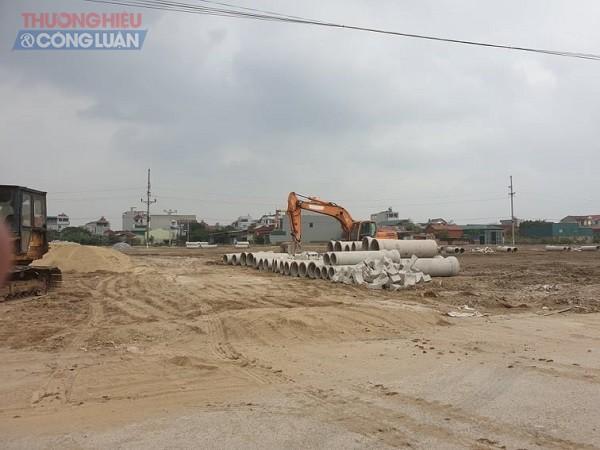 Bảo Long New City đã được CĐT san nền, làm mặt bằng từ những tháng cuối năm 2019