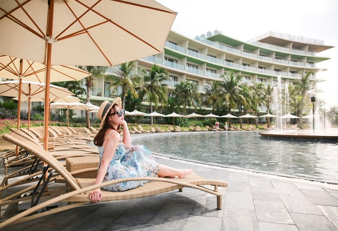 """Đến với FLC Sầm Sơn dịp lễ 8/3 này, du khách sẽ được tận hưởng kỳ nghỉ khó quên từ gói nghỉ dưỡng """"Vitamin Sea – Đi về miền trong lành"""" với giá chỉ từ 699.000 VND/ người/ đêm"""