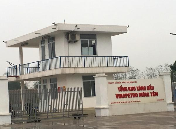 Tổng Kho xăng dầu Vinapetro Hưng Yên.