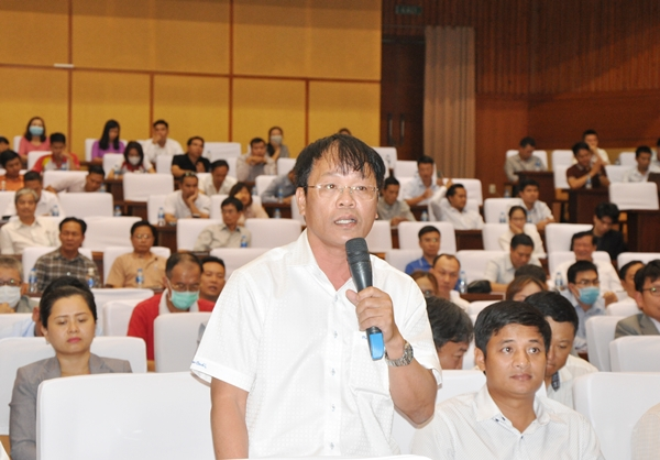 Ông Vũ Văn Đảo  kiến nghị tỉnh giải quyết khó khăn, vướng mắc của DN