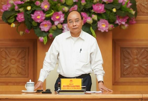 Thủ tướng phát biểu tại cuộc họp (Ảnh: VGP/Quang Hiếu)