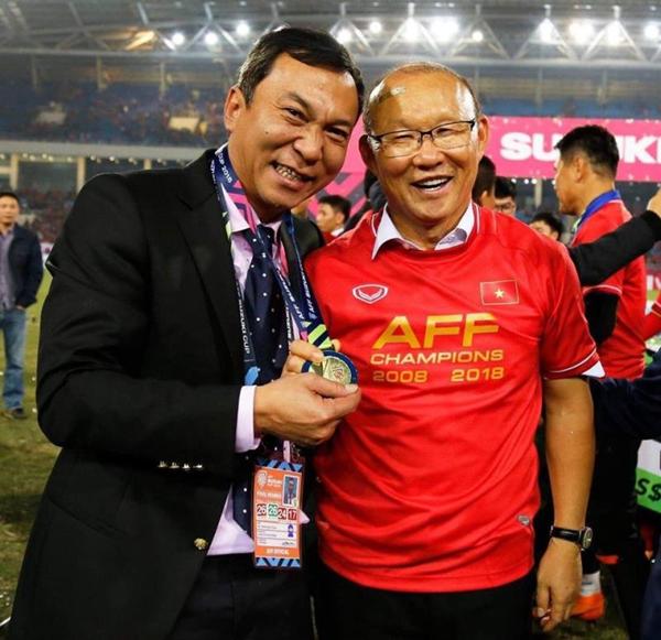 HLV Park Hang Seo nhận chỉ tiêu vô địch AFF Cup và vượt qua vòng loại thứ hai World Cup 2022