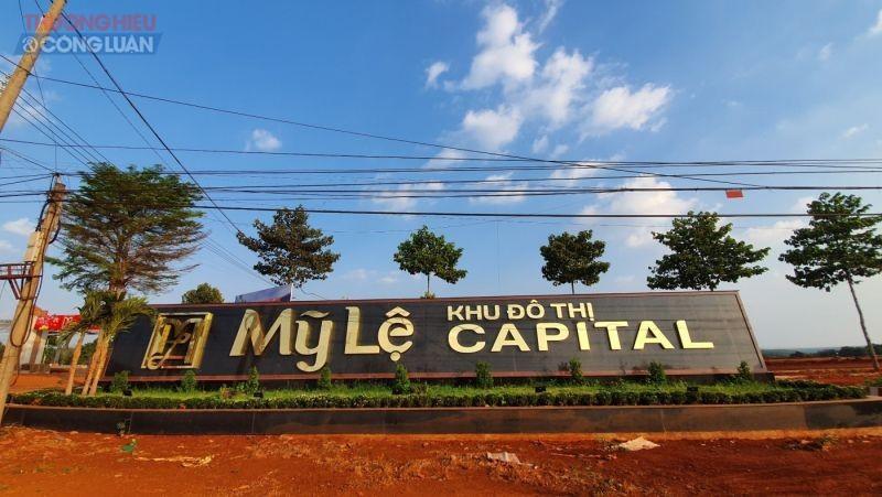 Dự án Mỹ Lệ Capital tọa lạc tại xã Long Hưng, huyện Phú Riềng, tỉnh Bình Phước.