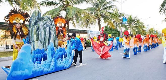 Carnaval mùa đông lần đầu tiên được tổ chức tại Quảng Ninh