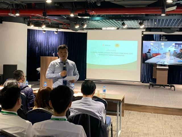 Đại diện VPBank chia sẻ tại Hội thảo