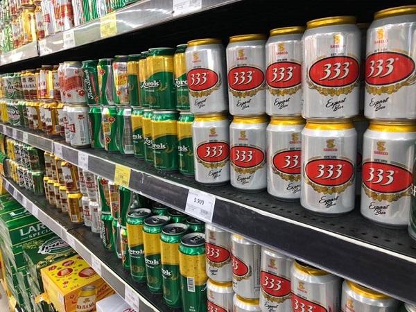 Cận Tết, bia và nước ngọt rục rịch tăng giá