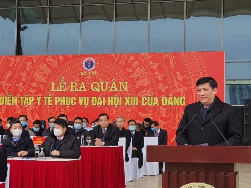 Bộ trưởng Nguyễn Thanh Long phát biểu tại buổi lễ