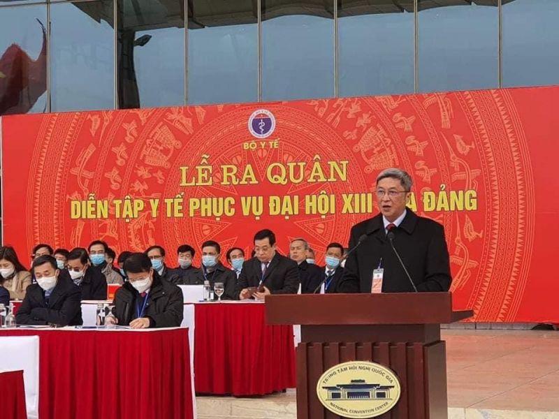 Thứ trưởng Nguyễn Trường Sơn phát biểu tại buổi lễ