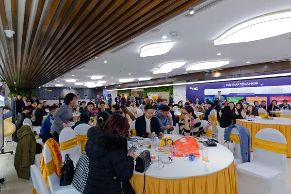 Lễ giới thiệu cơ hội đầu tư dự án TNR The Nosta 90 Đường Láng thu hút đông đảo khách hàng tham dự