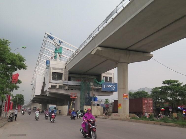 Tuyến Metro Nhổn - ga Hà Nội dự kiến khai thác vào năm 2021.