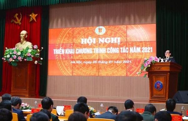 Kiểm toán Nhà nước tổ chức Hội nghị Triển khai chương trình công tác năm 2021