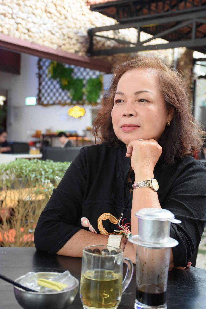 Nghệ sĩ Nhân dân Rơchăm Phiang. Ảnh: Phương Duyên