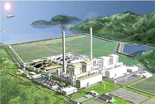 Phối cảnh tổng thể dự án Nhà máy nhiệt điện Quảng Trạch 1