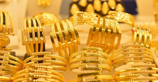 Tuần qua, giá vàng SJC tăng 500 nghìn/lượng