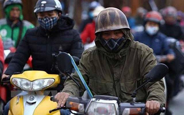 Ảnh hưởng của không khí lạnh tăng cường, Hà Nội rét đậm, rét hại