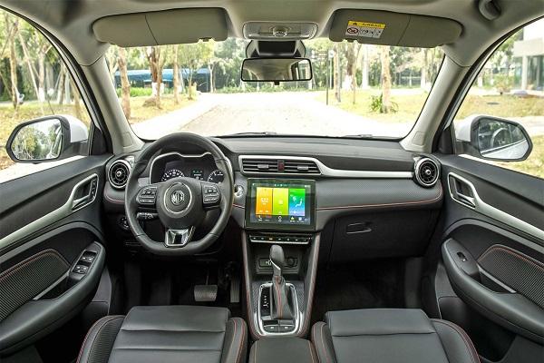 Hàng ghế trước của xe MG ZS 2021