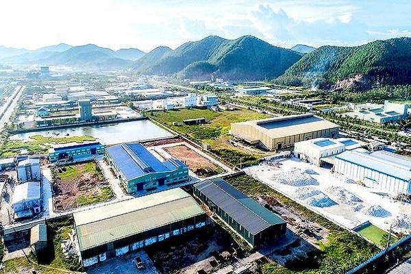 Một góc Khu Kinh tế Nam Cấm Nghệ An
